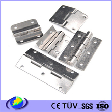 Door Hinge stamping parts, Made of Stainless Steel or Brass, Various Colors are Available