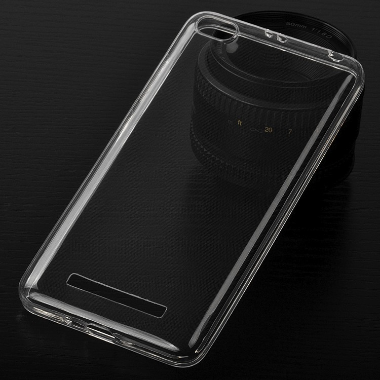 DFIFAN Transparent Clear Soft TPU Protective Back <strong>Cover</strong> for redmi 4a, Thin Phone <strong>cover</strong> for redmi mi 4a Case