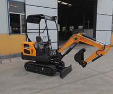 1.8 ton mini excavator /bucket capacity 0.06m3 earth moving machinery