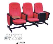 hot sale english movies wood church chair theater seat LT37