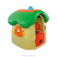 cheap kids plastic playhouse,mushroom cottage,mushroom playhouse
