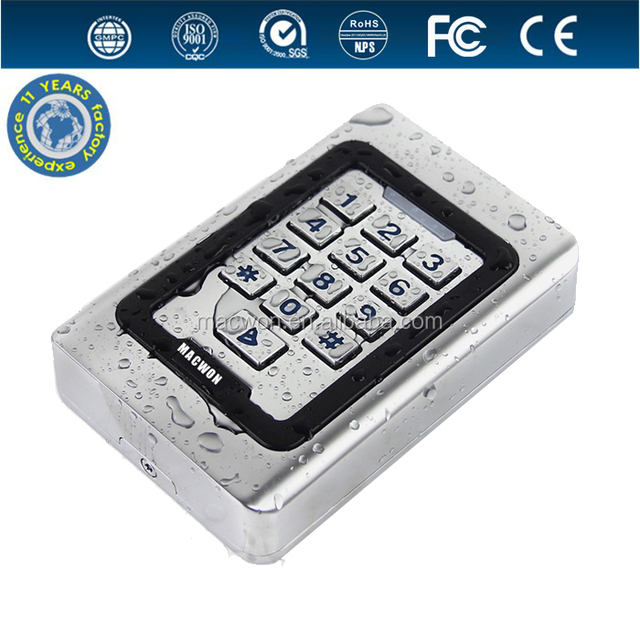 Standalone Metal case Access Control Reader for access control