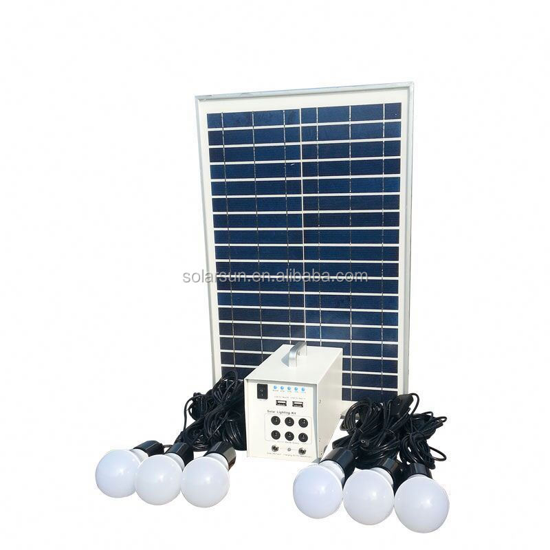 Hot selling Africa solar lighting system for household appliances
