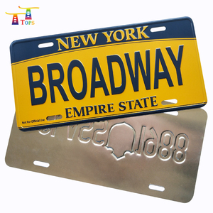 Number Plate Suppliers >> Aluminum Gift Embossed Number Plate Aluminum Gift Embossed Number