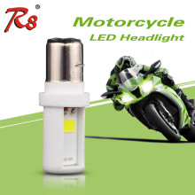 Hot selling products BA20D motorbike headlight 6W 5500K 6500K ceramic material led headlight for bajaj pulsar motorcycle