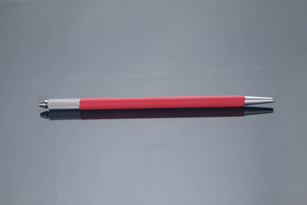 New Arrival Super Slim Red Color Manual Pen, Your Best Tool For Pigmentation!