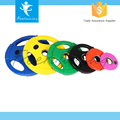 Gym Equipment Rubber Coated Weight Lifting Bumper Plate