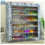 30 pair 10 Tier Layer Smart Metal Simple Fabric Shoe Rack Cabinet
