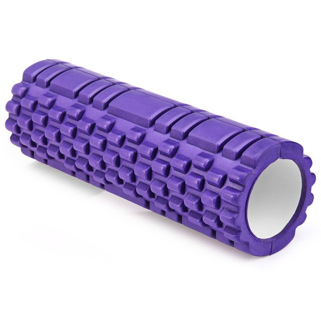5 Colors High Density Floating Point Fitness Gym Exercises EVA Yoga Foam Roller for Physio Massage Pilates Tight Muscles