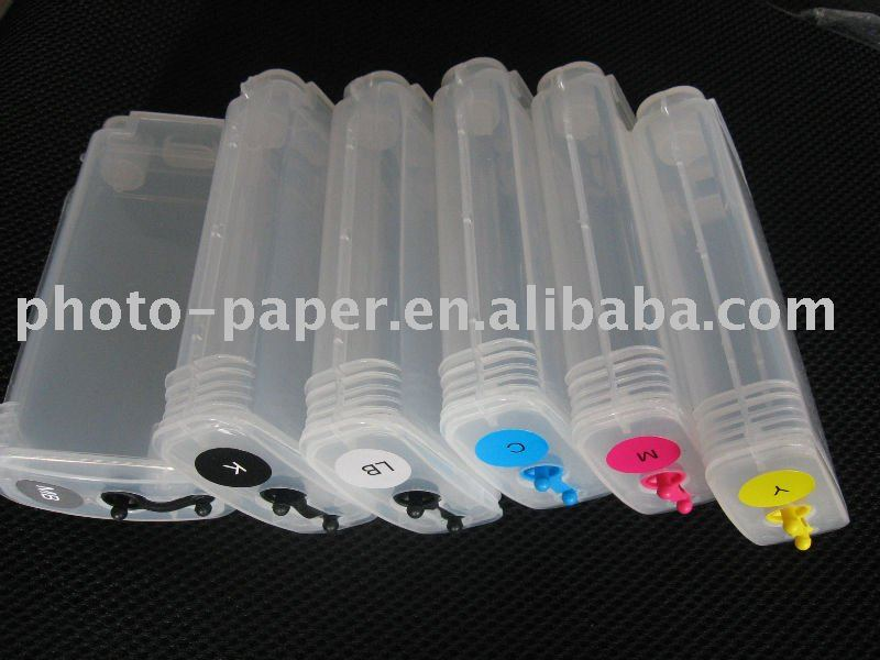 reillable/empty/refillable ink cartridge for HP B9180/B8850