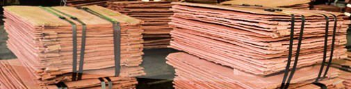 Copper Cathodes 99,99% Grade A LME registered LME-discount