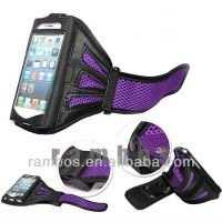 Sports Armband Gym Bands Exercise Arm Case Cover for iPhone 4 4S, Armband Case Mobile Phone Bags Suporte Para Celular B
