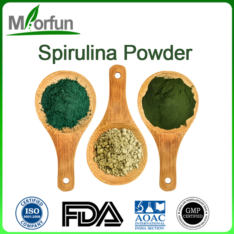 100% Pure and Organic spirulina extract food grade food grade spirulina protein powder With Good Service