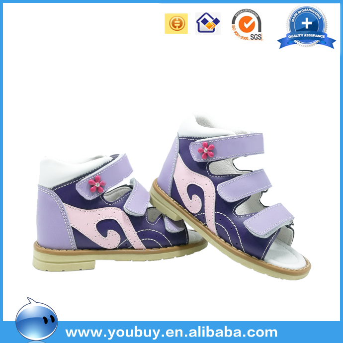 Colorful Fancy Baby Girls Orthopedic Sandals Shoes,Latest Girls Footwear Design