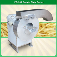 FC-502 Root Vegetable Potato Chips French Fries Cutting Machine