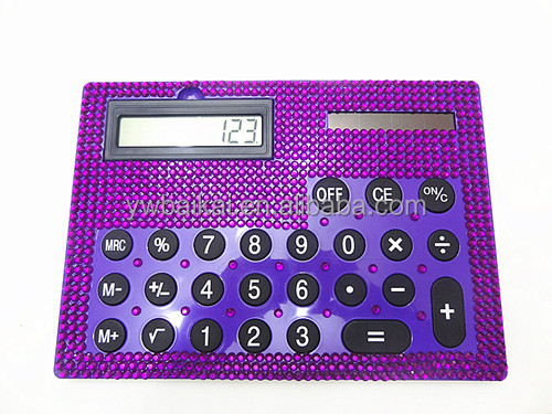 big board rhinestone diamond cartoon calculator