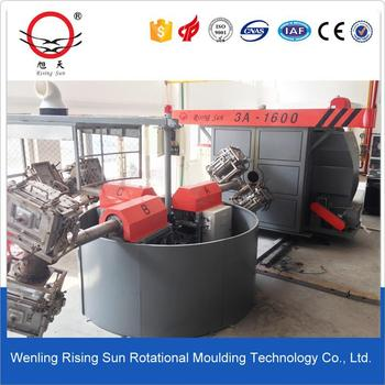 3.5m carousel arm rotomolding machine kayak factory
