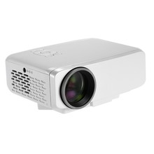 Portable LED Projector EU Plug Home Theater Beamer Full HD 1080P VGA / HD / TV / SD / AV Input Multimedia Projector with Remote