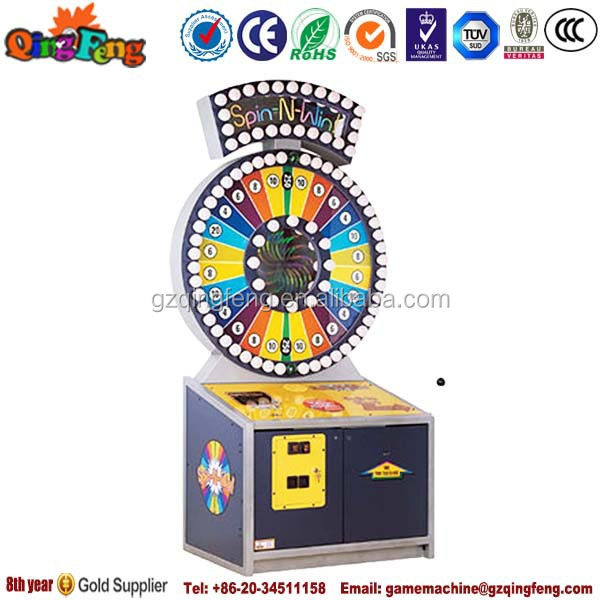 Hot selling ticket redemption push win machine for game zone