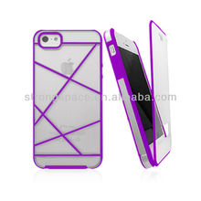 Cell phone case for iphone 5 with TPU and PC from china supplier