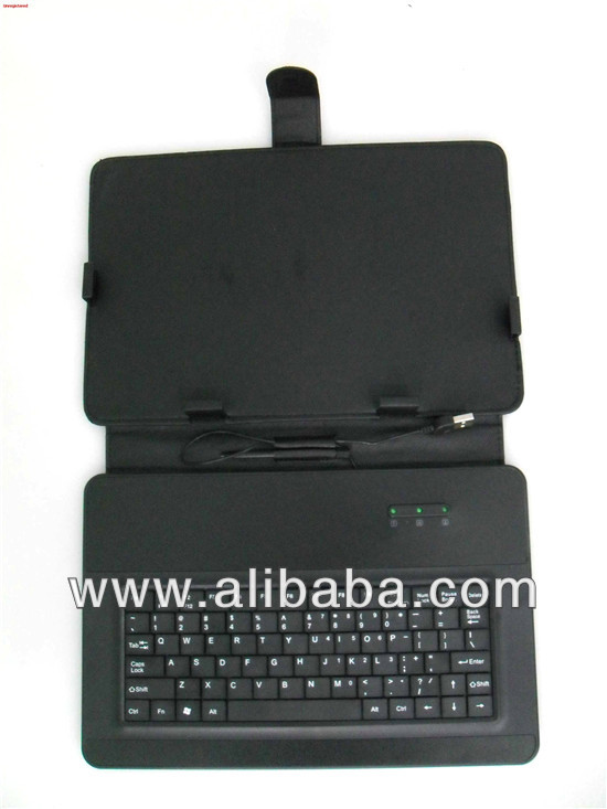 "7"" Universal Tablet Case Cover with Keyboard"