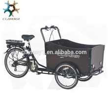 3 wheel cargo bike with V brake for adults UB9019