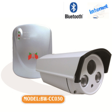 Security door lock outdoor hidden CCTV camera