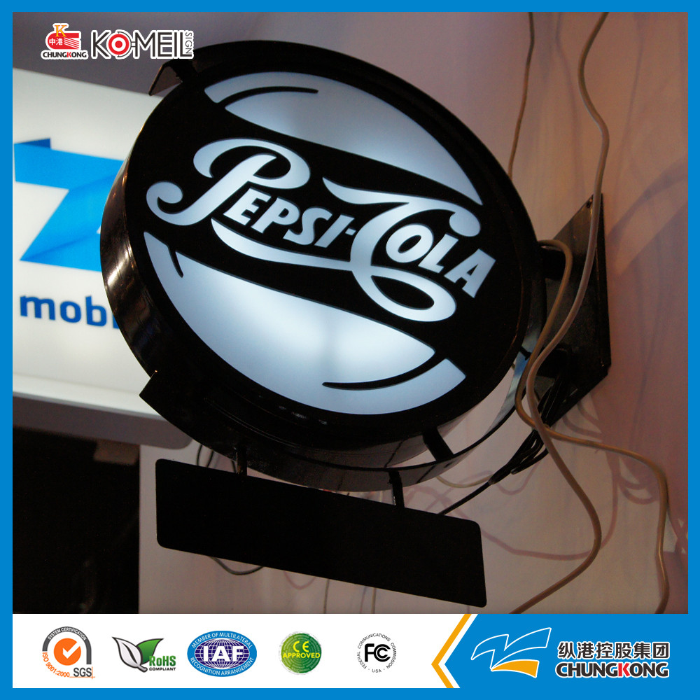 Hot sale size custom guinness aluminum scrolling led light box sign