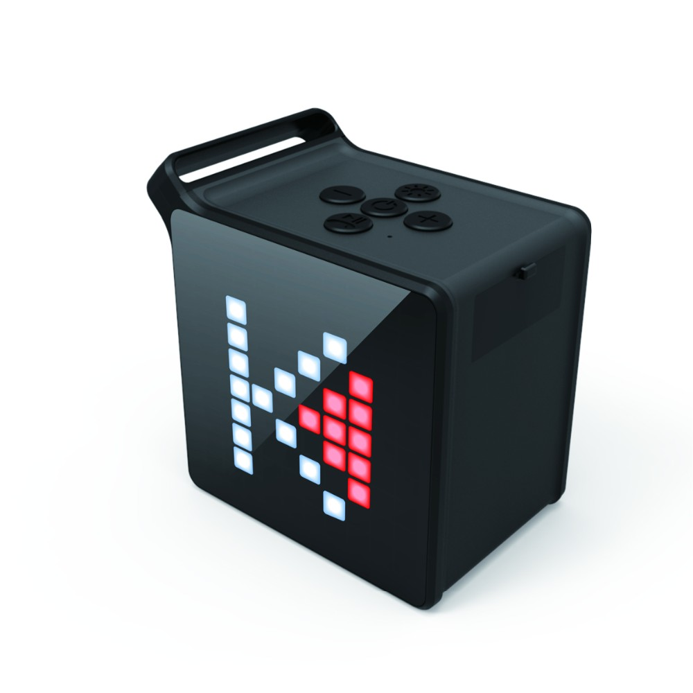 Custom outdoor music bluetooth full frequency speaker with app control flash