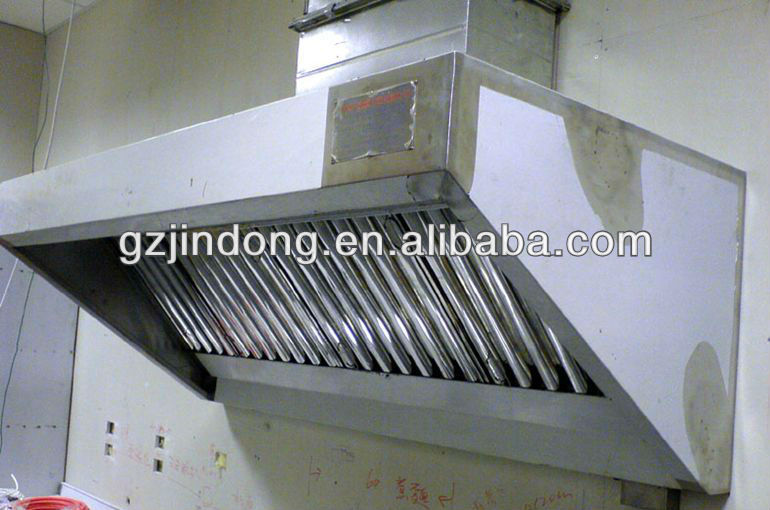 Commerical Industrial Kitchen Exhaust Hood
