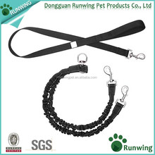 Dog Coupler Double Dog Leash, Two Dog Leash No Tangle for Two Dogs, Bungee