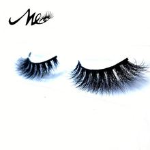 Natural soft 3d 100% real mink eye lashes false eyelash