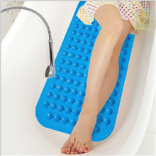 custom bathroom bubble non slip bath mat/customized eco-friendly anti skid rubber suction shower mat manufacturer