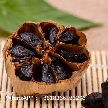 Fermented Whole Black Garlic For Culinary
