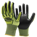 NMSAFETY safety equipment cut resistant 5 TPR impact resistant safety glove