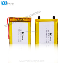 China supplier YJ 403035 380mAh 3.7V li po battery mobile phones with 3000mah battery