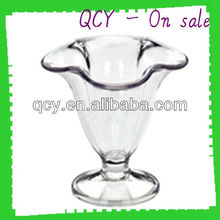 High quality injection molded PC clear plastic cups