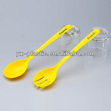 salad serving spoons and forks plastic salad mixing spoon