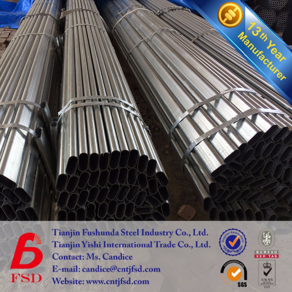 china supplier for oval shaped steel pipe black iron pipe 4 inch