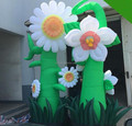 Artificial inflatable sunflower inflatable flower decoration