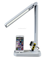 For i- watch iphone charging dock stand LED working lamp