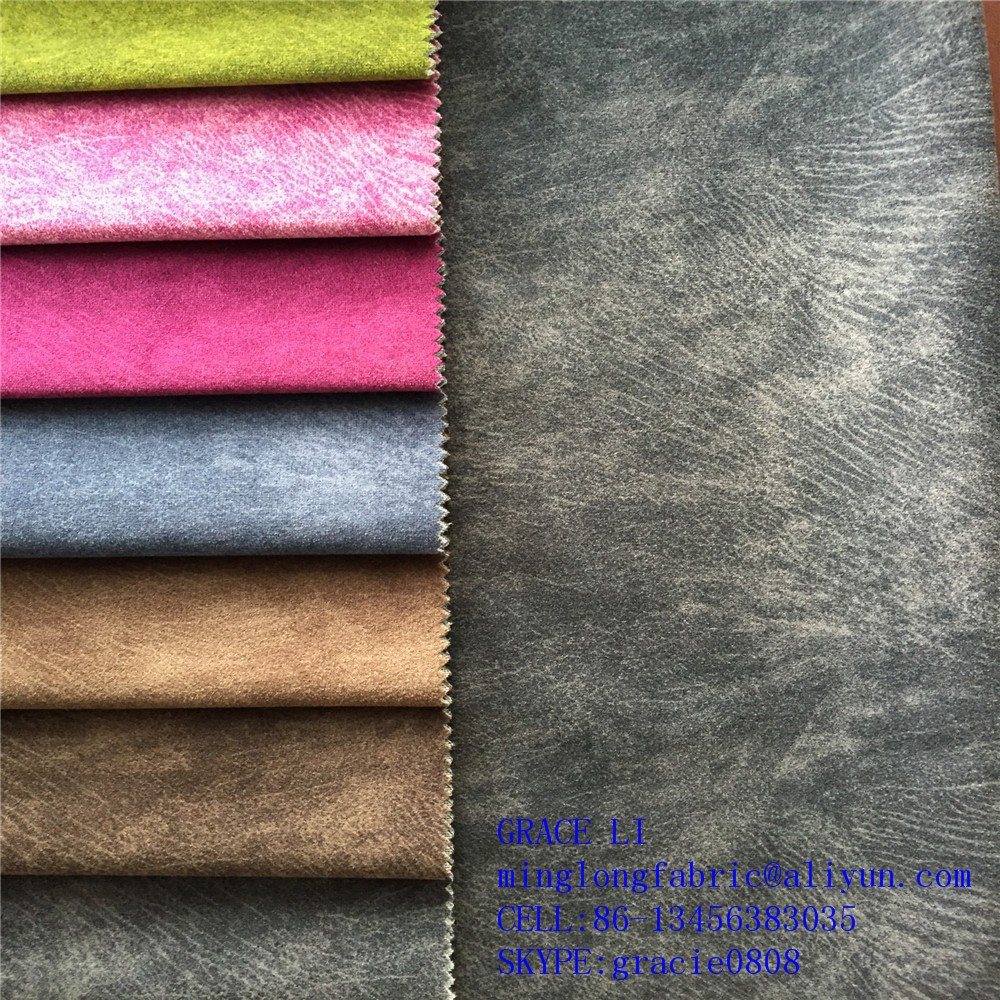 100% polyester paper printing sofa velboa fabric /velboa upholstery fabric /velvet sofa fabric