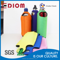 Wholesale SGS Approval Reusable Foldable Sublimation Thermal Neoprene Baby Bottle Cooler Bag