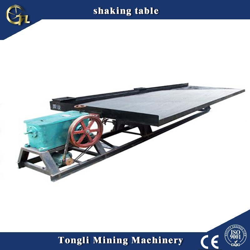 6s gold mining shaking table gold separation shaker table price for equipment centrifugal gold pans wholesale