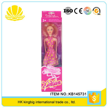 hot selling wholesale high quality girls toy fashion 11 inch doll for kids