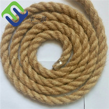 Natural Color Utility Jute Fiber Hemp Rope 6mm for sale