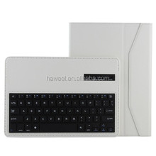 Bluetooth 3.0 ABS Hard Key Keyboard and Crazy Horse Texture Leather Case with Holder for Samsung Galaxy Note 10.1 2014
