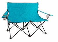 Portable outdoor fishing double beach camp chair