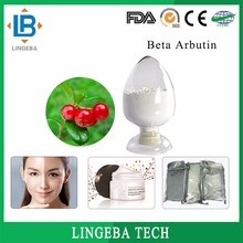 100% Natural Cosmetic Ingredient CAS 497-76-7 Beta Arbutin Plant Extract