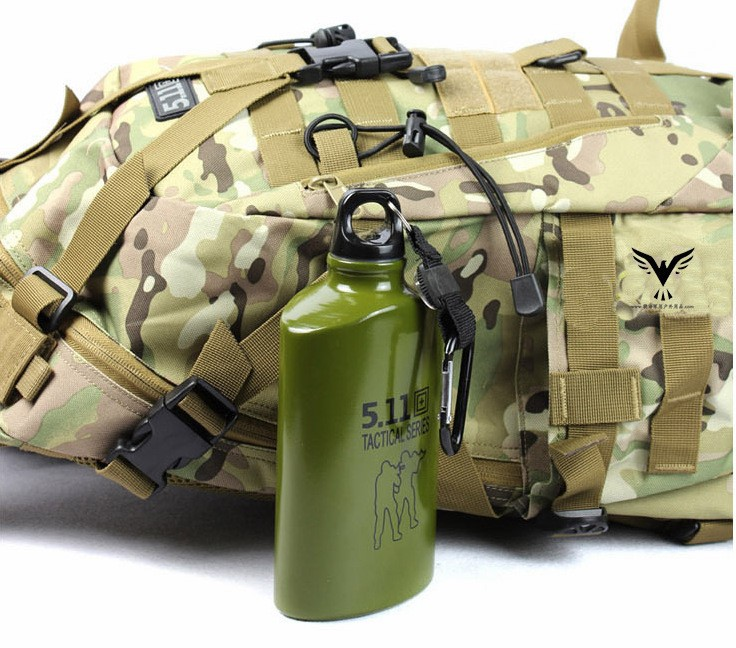 outdoor sport aluminum water bottle bpa free, military water bottle